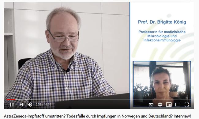 Interview mit Prof. Dr. B. König und Dr. med. Dirk Wiechert zu Covid19